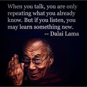 Shut Up, Listen and Learn!